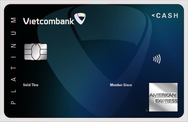 Thẻ tín dụng Vietcombank Cashplus Platinum American Express