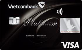 Thẻ tín dụng Vietcombank Visa Platinum