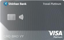 Thẻ tín dụng Shinhan Bank Travel platinum