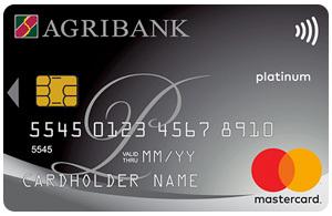 Thẻ tín dụng AGRIBANK platinum