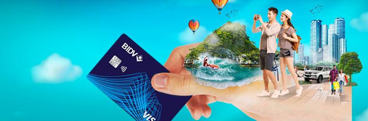 Thẻ tín dụng BIDV travel