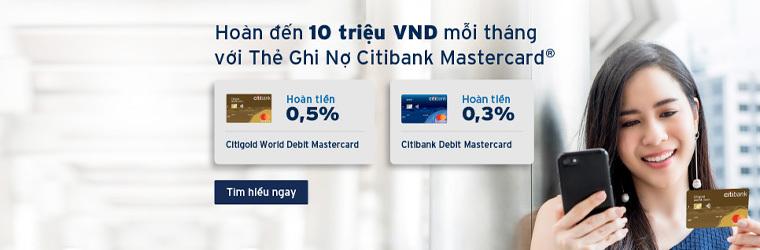 Thẻ tín dụng Citybank
