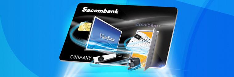 Thẻ tín dụng SACOMBANK online