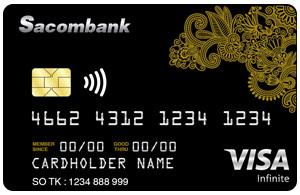 Thẻ tín dụng SACOMBANK CC