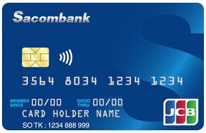 Thẻ tín dụng SACOMBANK JCB motor