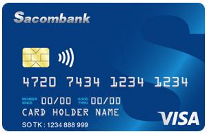 Thẻ tín dụng SACOMBANK visa cc
