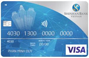 Thẻ tín dụng Shinhan Bank main