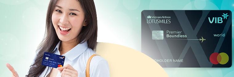 Thẻ tín dụng VIB credit