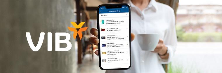 Thẻ tín dụng VIB mobile