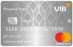 Thẻ tín dụng VIB Financial free