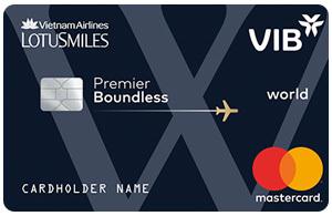 Thẻ tín dụng VIB premium boundless