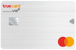 Thẻ tín dụng VIB true card