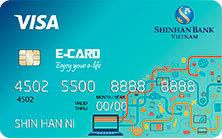 Thẻ tín dụng Shinhan Bank e-card