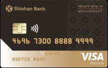 Thẻ tín dụng Shinhan Bank visa