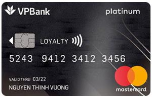 Thẻ tín dụng VPBank platinum