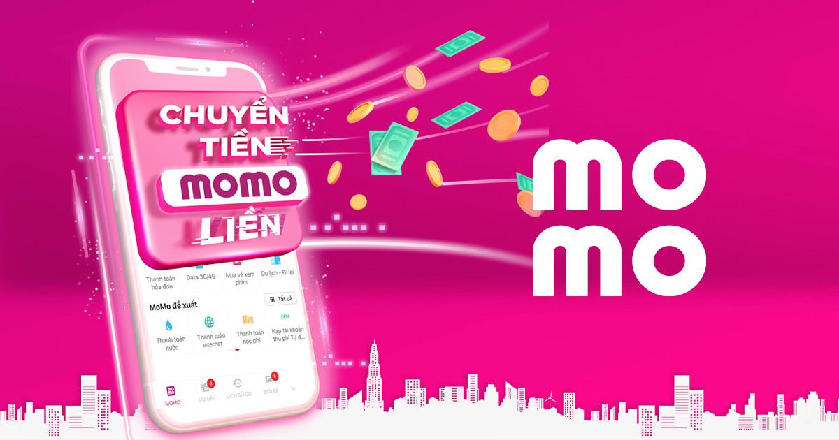 Momo ví điện tử social