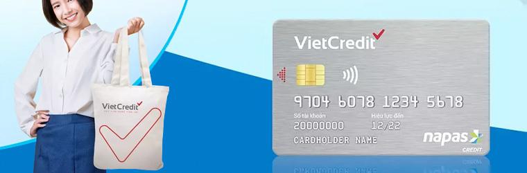 Thẻ tín dụng Vietcredit card
