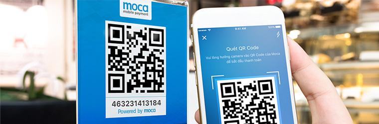 Ví điện tử Moca mobile
