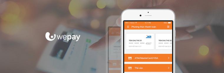 Ví điện tử WePay mobile